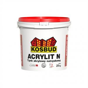 Штукатурка акриловая машинного нанесения, KOSBUD ACRYLIT-N