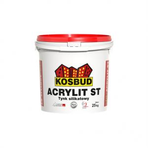 Штукатурка силикатная, KOSBUD ACRYLIT-SТ