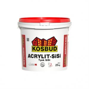 Штукатурка силикатно-силиконовая, KOSBUD ACRYLIT-SISI