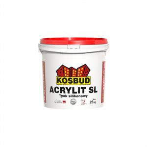 Штукатурка силиконовая, KOSBUD ACRYLIT-SL