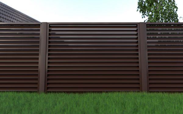 Забор жалюзи ПСМ Профиль